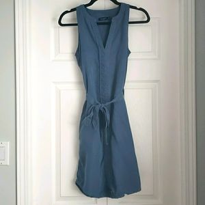 *2 for $30* Max Jeans Sleeveless Curved Hem Dress